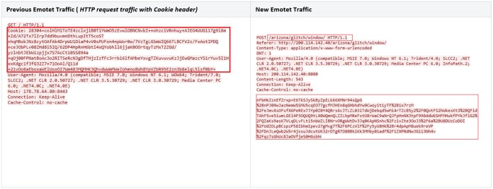 - cookie - Emotet Malware Evasion Technique Lets Hacked Device Used as Proxy
