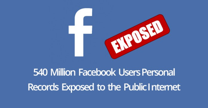 - facebook - 540 Million Facebook Users Personal Data Exposed to the Public Internet