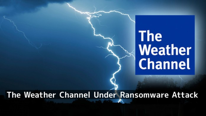 - k8xhS1555749367 - The Weather Channel Under Ransomware Attack -Down about 90 Minutes