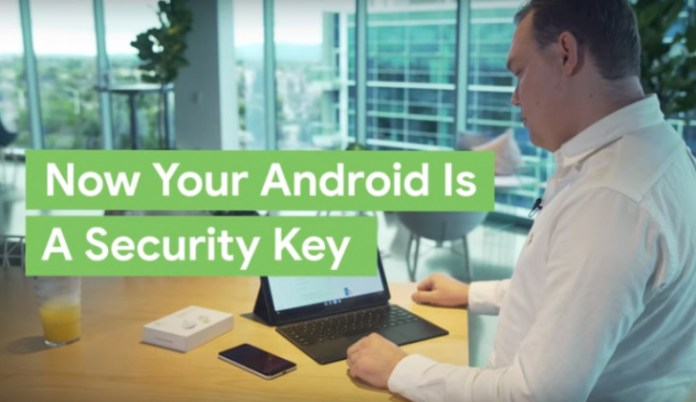 Android Phone as a Security Key  - ltxKU1554975798 - Android Phone as a Security Key for Google's 2 Factor Authentication