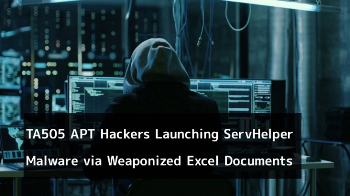 - sS7211554561921 - TA505 APT Hackers Launching ServHelper Backdoor Malware