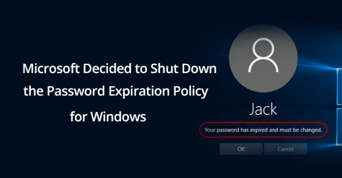 - windows password - Microsoft Decided to Shut Down Password Expiration Policy for Windows