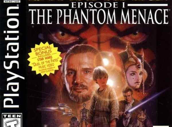 Game Review: Star Wars: Episode 1 – The Phantom Menace (PS1)