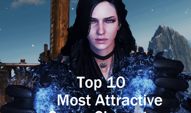 Top 10 Most Attractive Game Characters