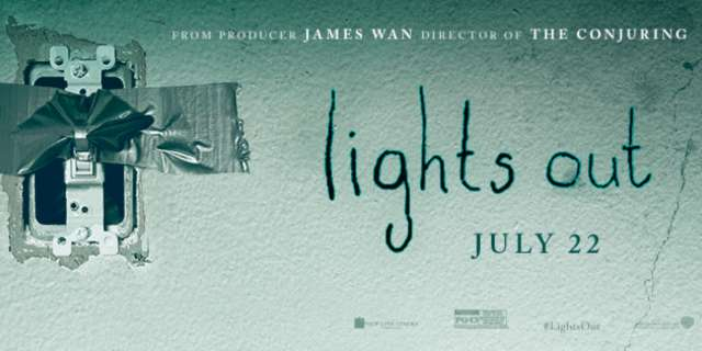 Horror Movie Review: Lights Out (2016)