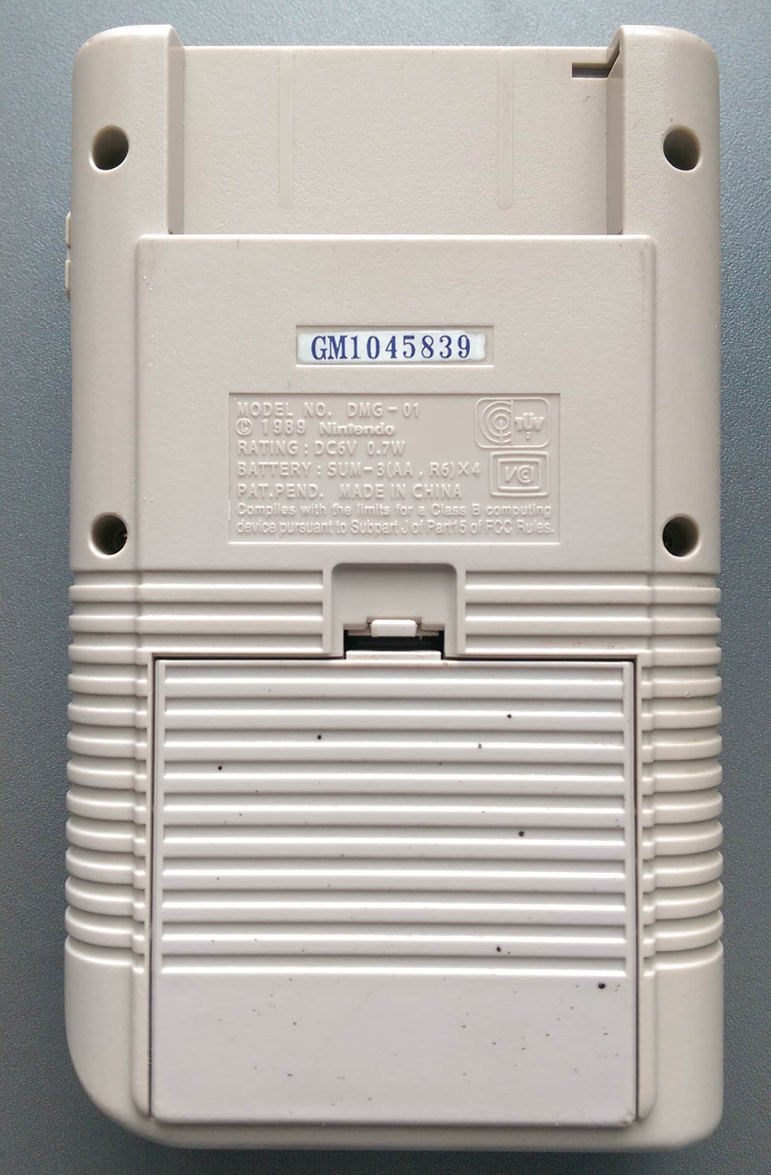 Dmg Gm1045839 Gekkio Game Boy Hardware Database