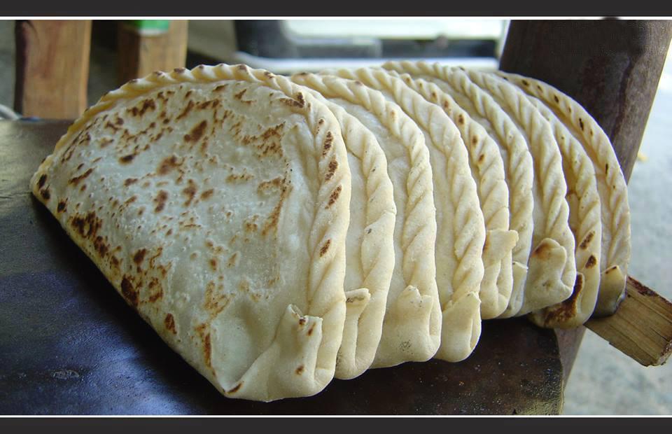 The preparation of Chapshuro, Recipe for Gilgit Baltistan version of Pizza.