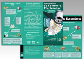 Triptico E-negocio Galicia