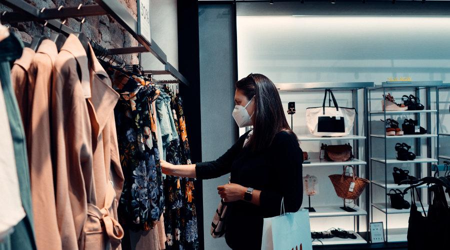 Pandemia enfraqueceu o varejo de moda