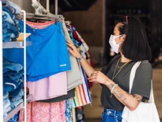Inflação de roupas pressiona em junho