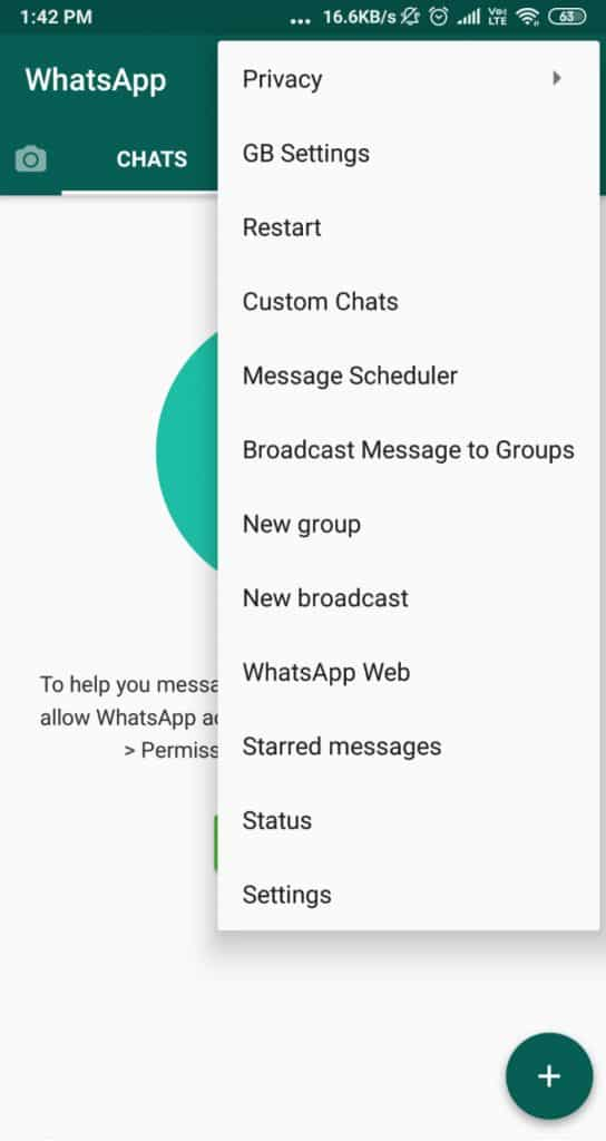 The description of gb whatsapp app. Gbwhatsapp Apk Download V17 30 0 Updated September 2021 Anti Ban Official