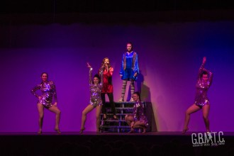 Hannah Black & Evelyn Stoesser fly their Freak Flag with their dancers; Maddie Disera, Meaghan Duval, Christina Frans & Kenzie Pilon