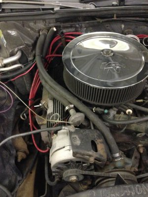 Heater hose routing 305 Chevy??? | GBodyForum  '78'88