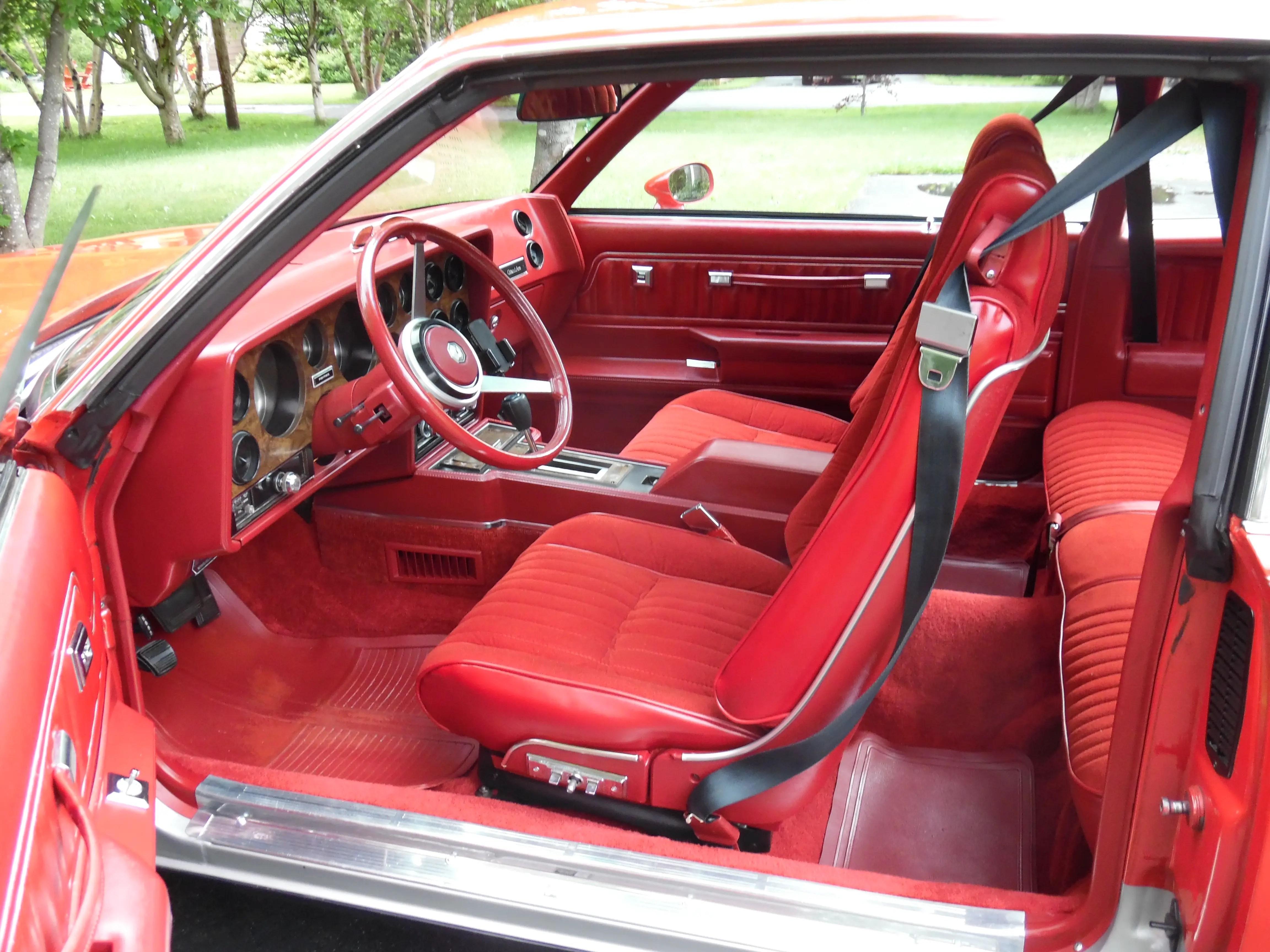 1978 Grand Am Seats Reupholstered GBodyForum 78 88