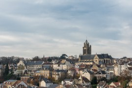 Pontoise, pretty city of the Val d'Oise