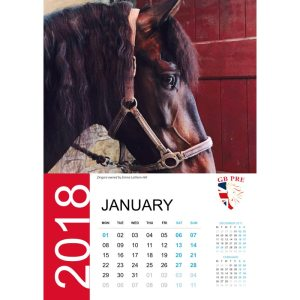 GB PRE Calendar 2018