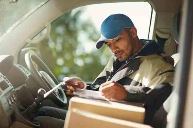 Image result for Courier Driver