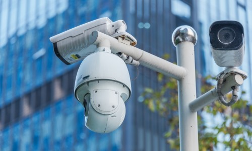CCTV cameras, fourth amendment
