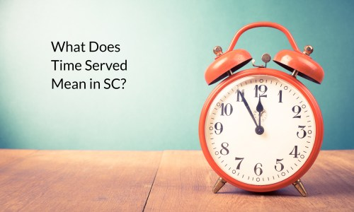 what does time served mean in sc
