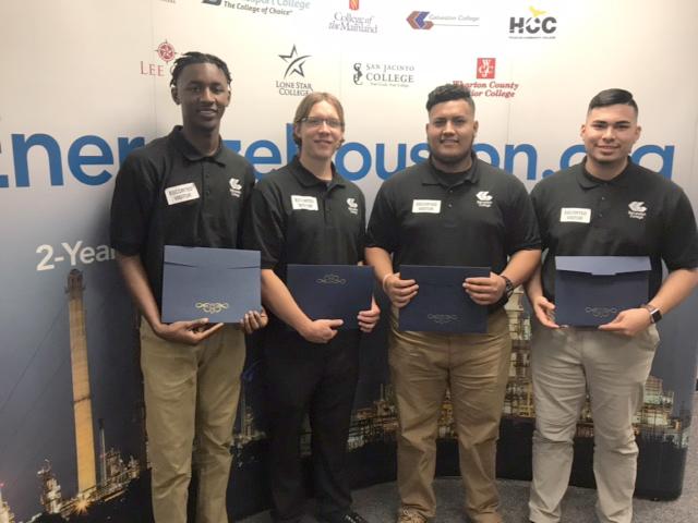 Community College PetroChem Initiative Scholarship winners