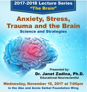The Brain Lecture with Dr. Zadina