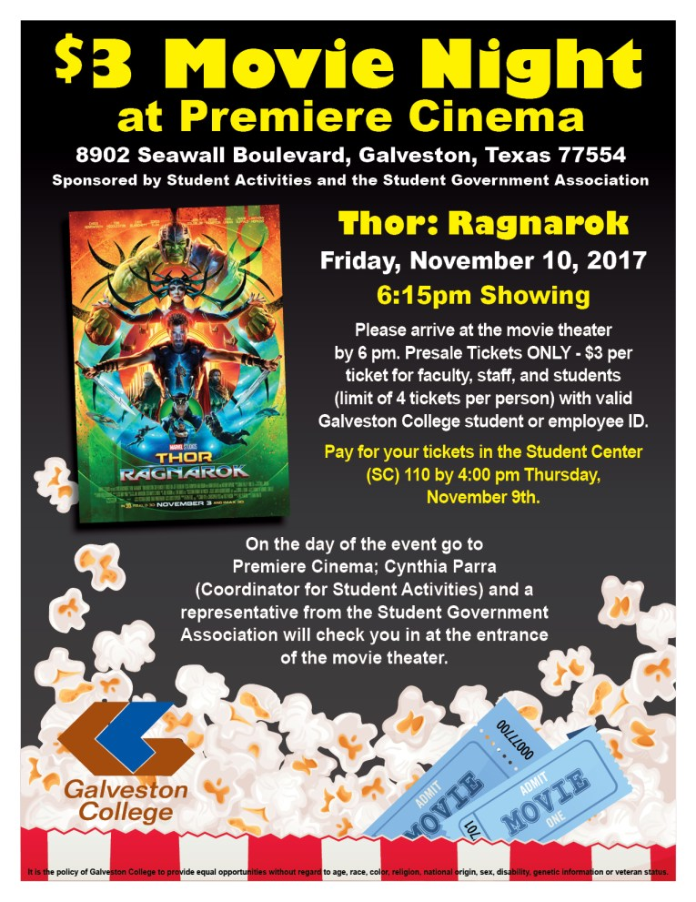 $3 Movie Night poster