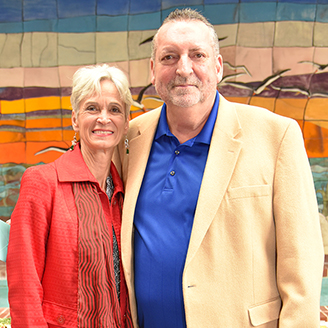 Joe Huff and Linda Kelley