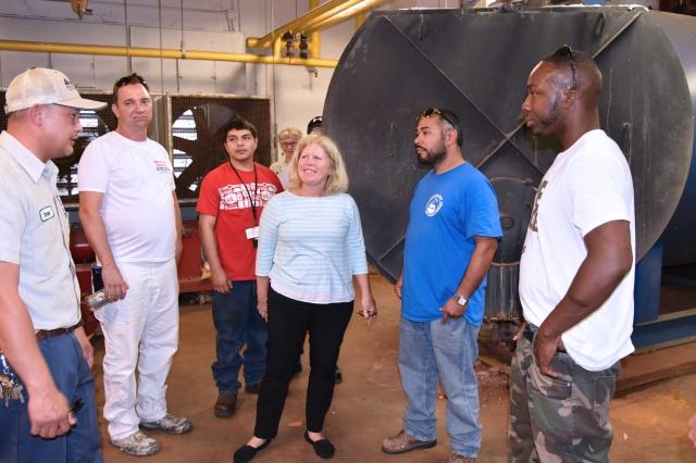 Galveston College HVAC program visited Mood Gardens