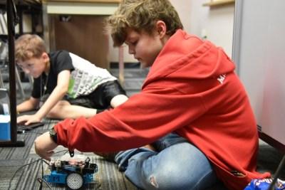 CE Kids Robotics 2018 summer class