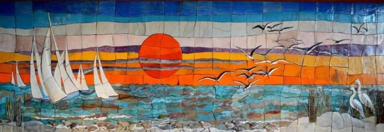 Galveston College Atrium Mural