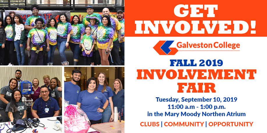 Promote your department, organization at the Fall 2019 Involvement Fair