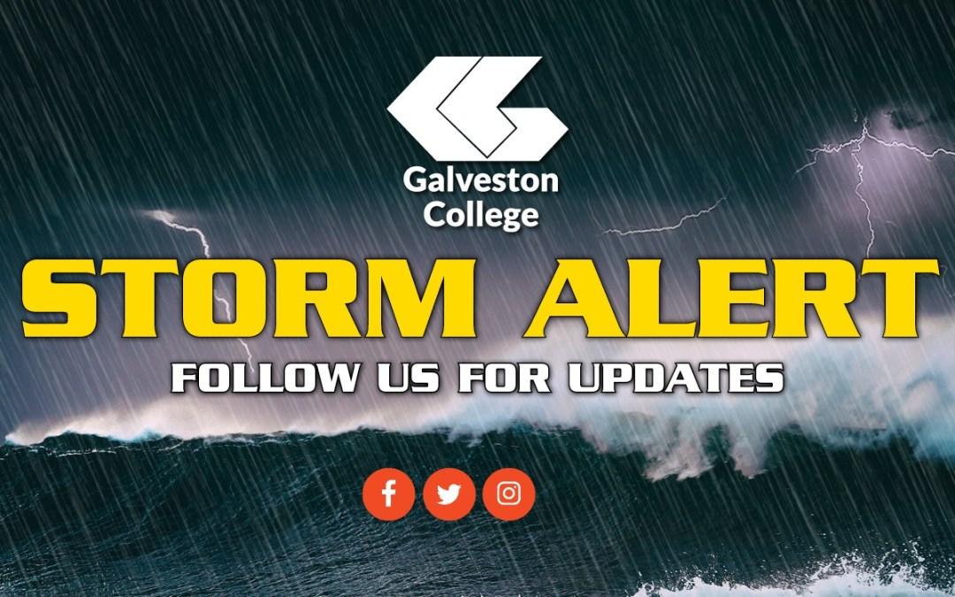 Galveston College suspends operations for evacuation