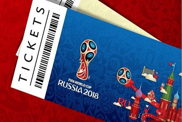 Ticket Russia 2018 FIFA