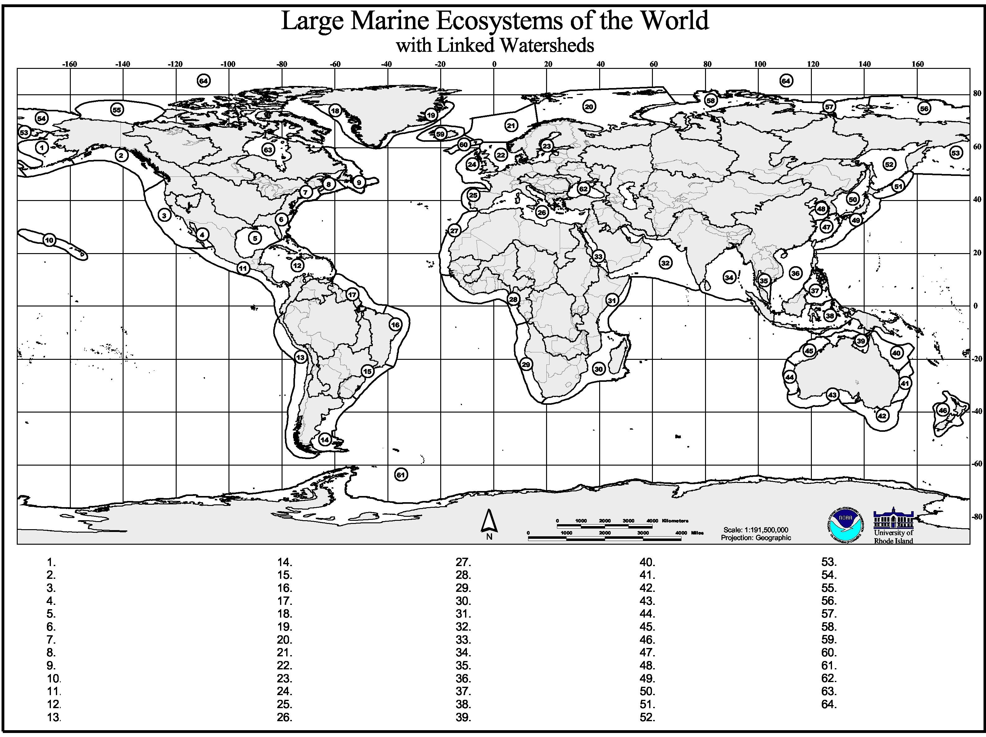 Test Your Marine Geography Knowledge Ifaw