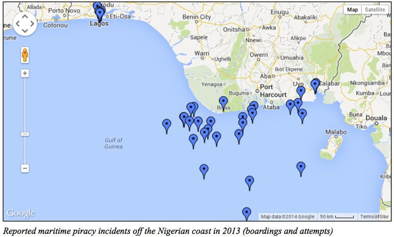 maritime piracy incidents nigeria