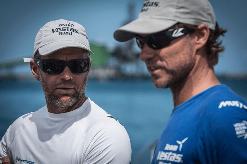 Team Vestas Wind Grounding Skippers Comments Draw