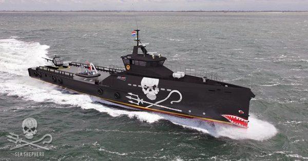Sea Shepherd Heads to Damen After Winning the Jackpot ...