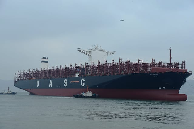 UASC Barzan containership