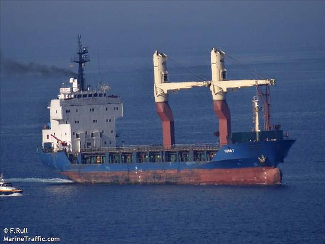 tuna 1 cargo ship