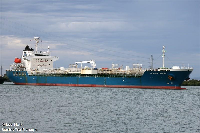 MT Chem Venus (former Golden Venus). Credit: MarineTraffic.com/
