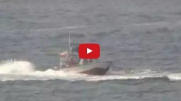 Video Shows Iranian Patrol Boats Harass U.S. Navy Destroyer