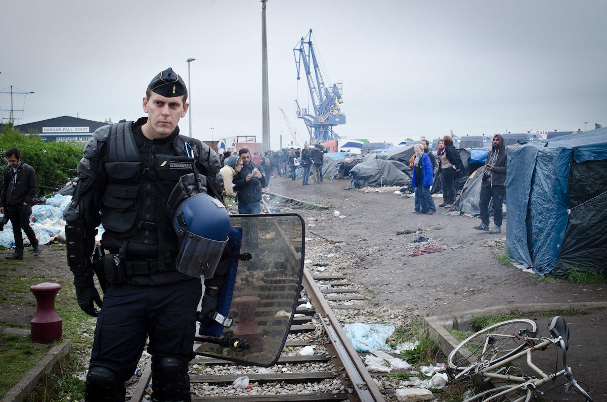 """Port of Calais Migrant """"Jungle"""""""