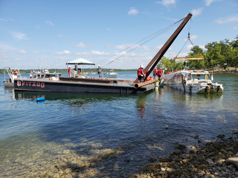 Coast Guard Salvages Missouri Duck Boat After Deadly