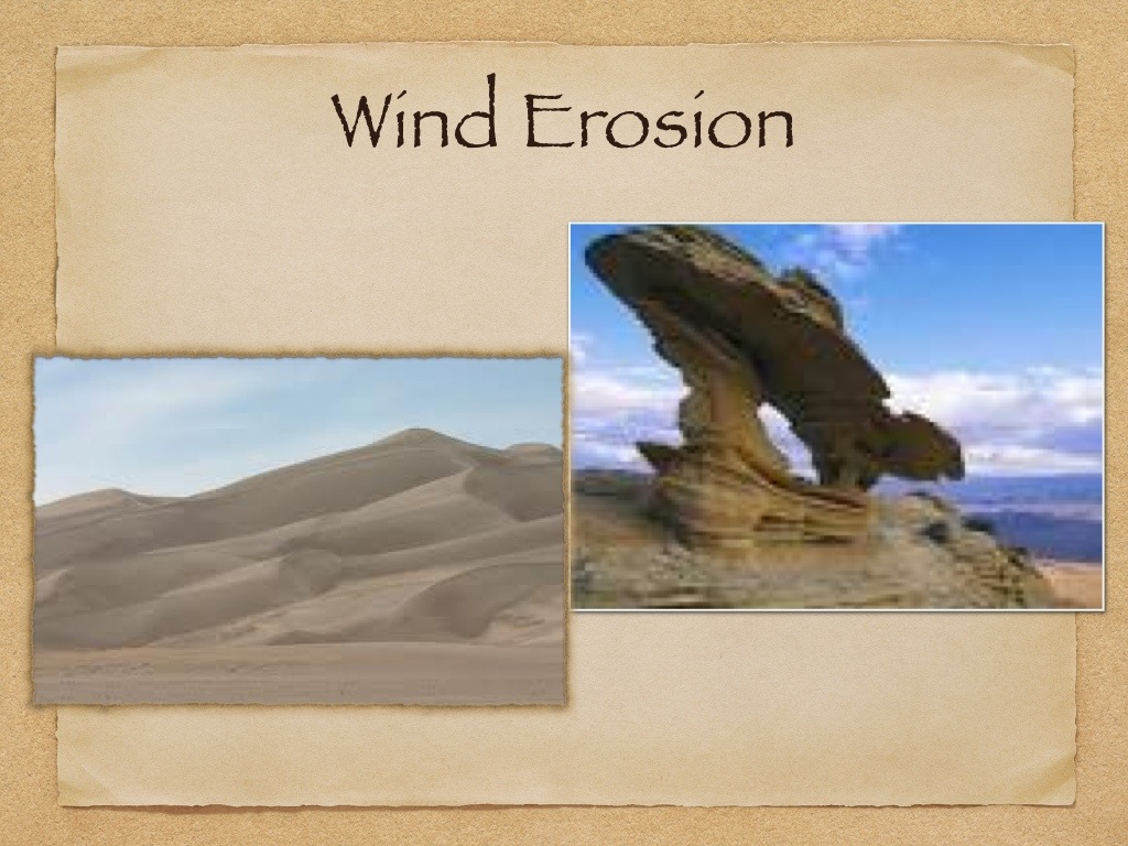 Weathering Erosion And Deposition