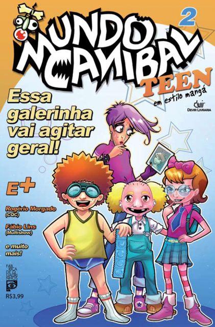 """Sátira ao """"mangá brasileiro"""" (1/2)"""
