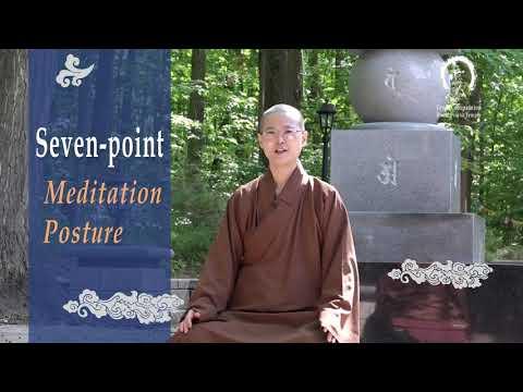 HOW TO MEDITATE | Seven-Point Meditation Posture Practicing Mindfulness & Sound Meditation
