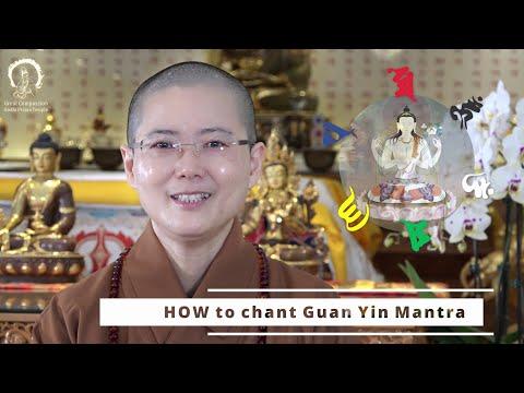 MANTRA MEDITATION | Guided Guan Yin Avalokiteśvara Syllable Mantra Visualization