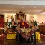 2018年7月9日北美大寳法王總根本道場KTD的尊貴且慈悲的堪布卡塔仁波切蒞臨大悲菩提寺為寺院祝願及加持