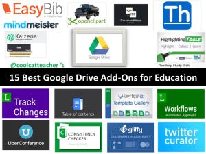 15 Best Google Drive Add-Ons by Vicki Davis