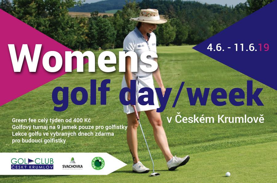 Týden golfu pro ženy od 4.6. – 11.6.